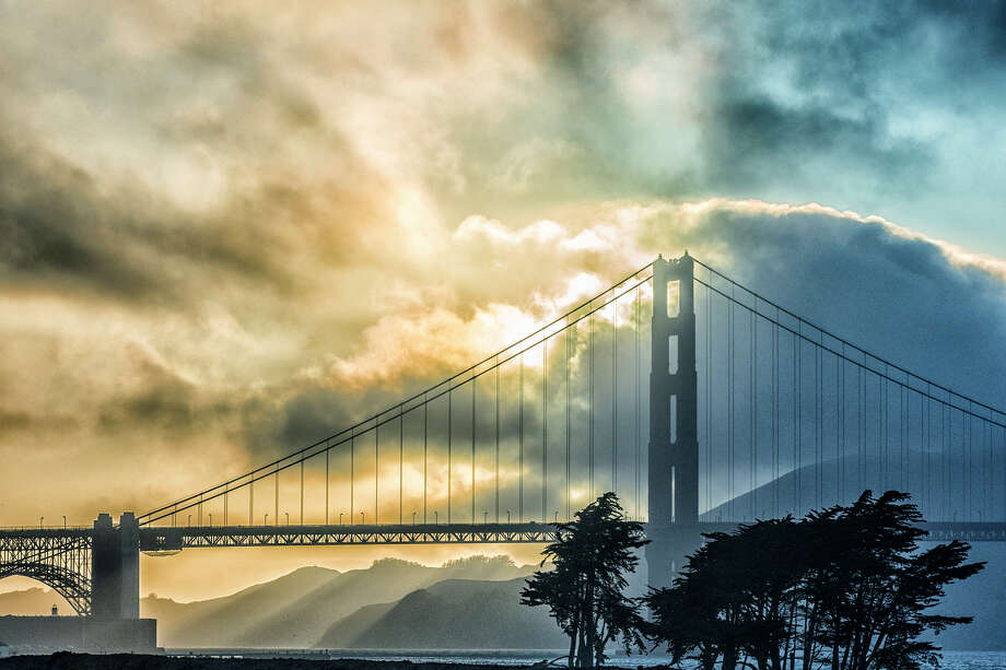 Three storms will bring a chance of rain to the Bay Area this week. Photo: Getty Images