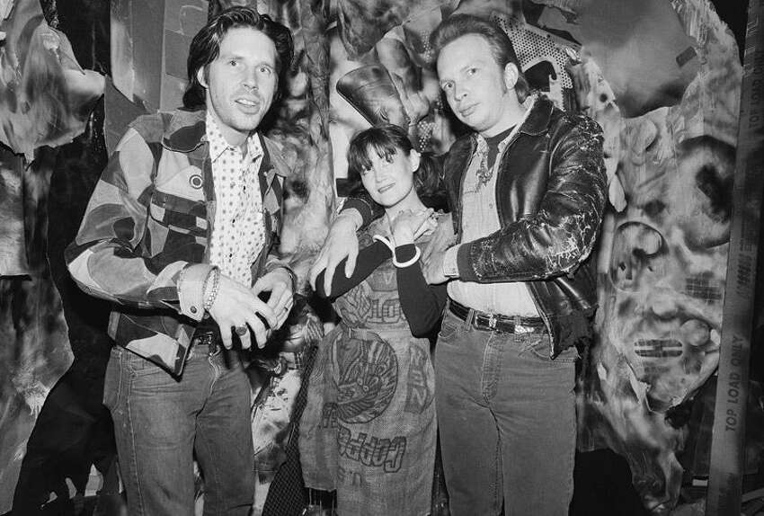 John Doe, Exene Cervenka and Dave Alvin in the 1980s. (Getty Images)
