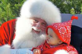 Santa will arrive in New Canaan during the 15th annual Holiday Stroll on Friday, Dec. 6.