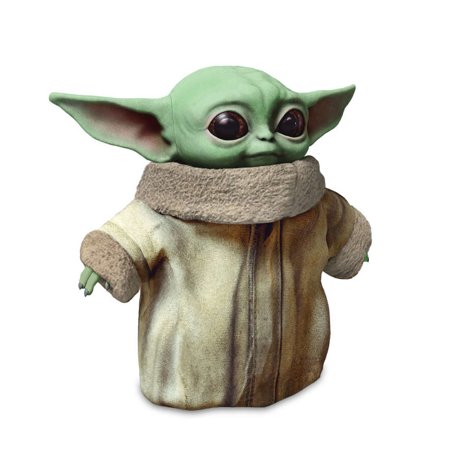 Baby Yoda plus doll at Walmart