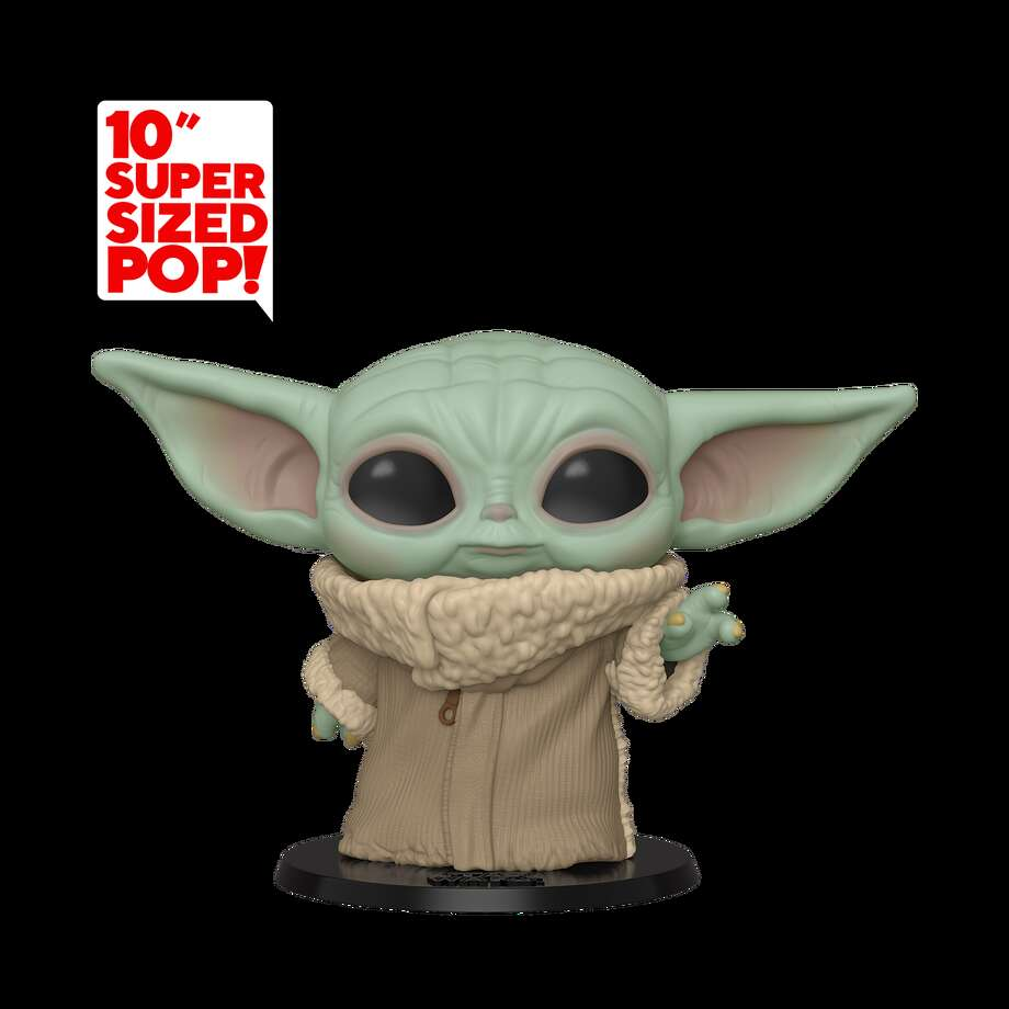 Baby Yoda Funko POP! 10-inch figurine at Walmart