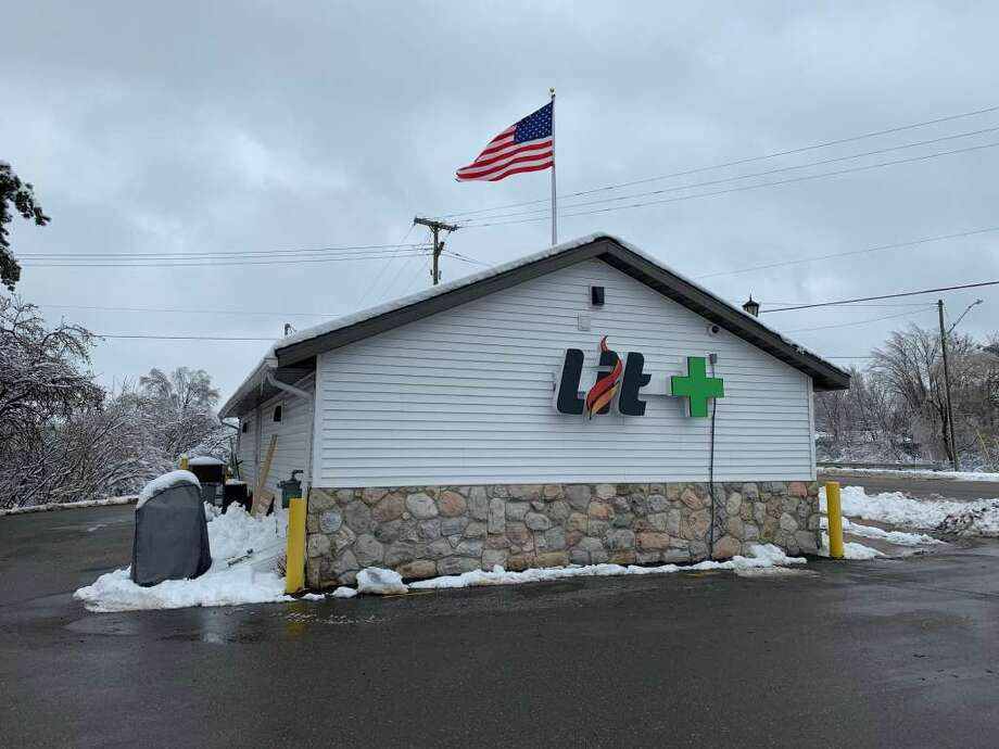 Lit Provisioning Center, 600 W. 7th St., in Evart, is pictured Tuesday. Lit will become the first northwest Michigan outlet to sell recreational marijuana when it opens Friday morning. Photo: Photo Courtesy Of Cathie Crew/Pioneer