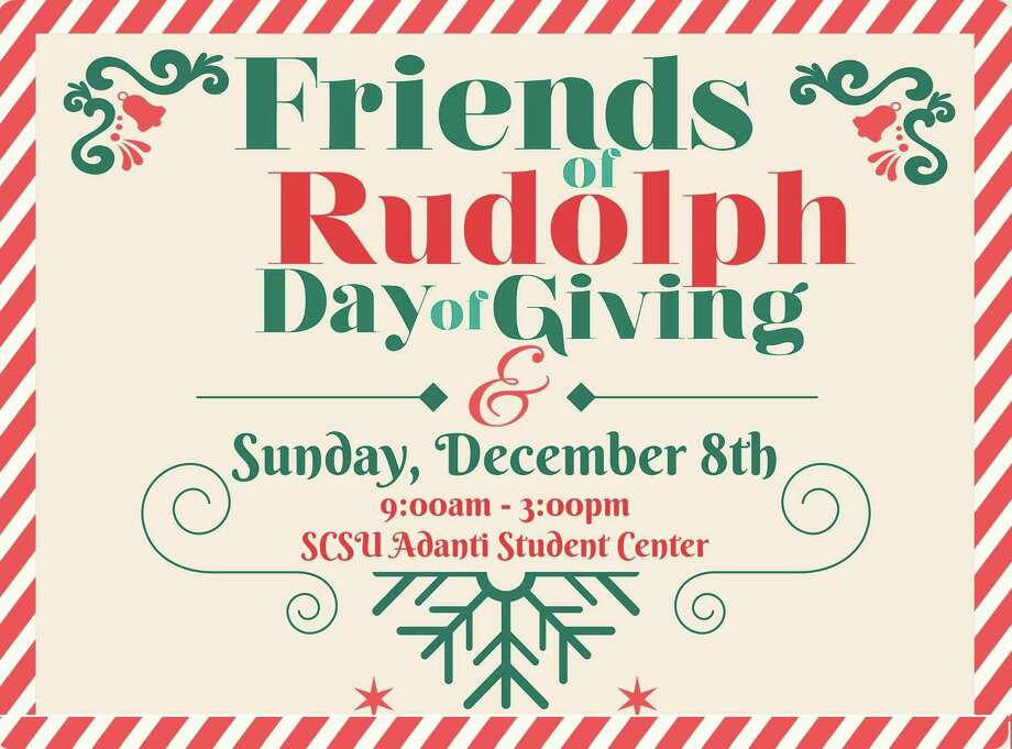 Toys and winter clothing will be given to New Haven residents at the annual Friends of Rudolph Day of Giving. Photo: Contributed Photo