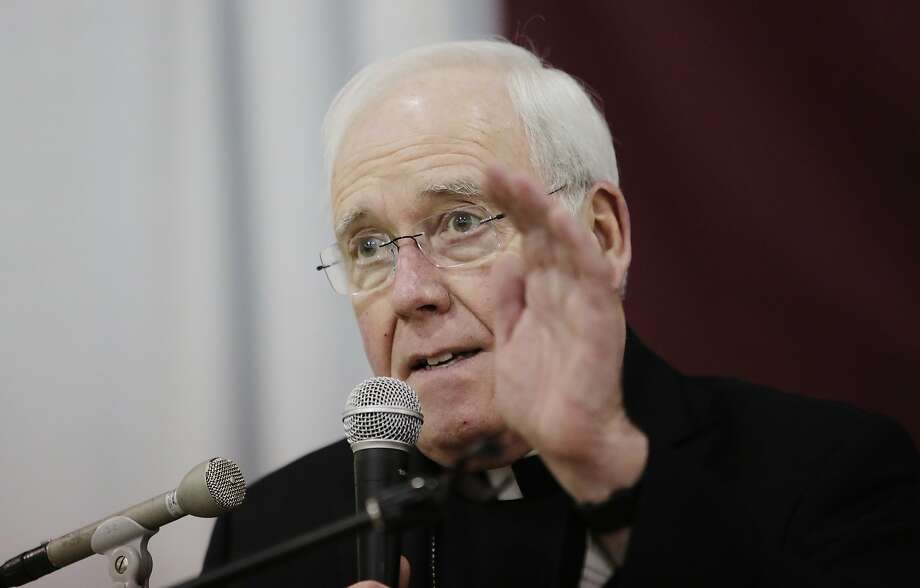 Buffalo Bishop Richard Malone's resigned following widespread criticism over how he handled clergy sexual misconduct. Photo: Frank Franklin II / Associated Press