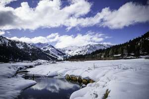 Back-to-back storms have blanketed theTahoeBasin in snow.