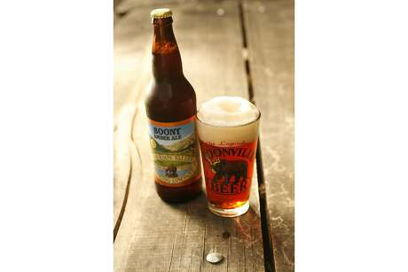 Anderson Valley Brewing Co., founded in 1987, is known for beers like its Boont Amber Ale. Photo: Craig Lee / The Chronicle 2006