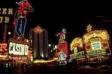 Nevada - Top industries: - #1. Arts, entertainment, recreation, accommodation, and food services ($27.9 billion, #6 among all states) - #2. Real estate and rental and leasing ($25.4 billion, #27) - #3. Professional and business services ($19billion, #29) - #4. Retail trade ($11.6 billion, #30) - #5. Educational services, health care, and social assistance ($11.3 billion, #34) - #6. Finance and insurance ($9.2 billion, #33) - #7. Construction ($8.6 billion, #28) - #8. Manufacturing ($7.9 billion, #39) - #9. Transportation and warehousing ($7.9 billion, #27) - #10. Wholesale trade ($7billion, #35) As the home of Las Vegas, Nevada rakes in huge amounts of cash from its tourism and gaming industries. Almost 400,000 people are employed by the city's hotels, casinos, and other attractions, and about 2,500 jobs are added each year. Outside of Vegas, Nevada also has a thriving aerospace industry, thanks to Nellis Air Force Base in the southern region of the state. The base employs 12,000 civilian and military workers. This slideshow was first published on theStacker.com