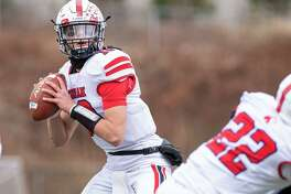Foran quarterback Andrew Janik led the Lions to four touchdowns and a field goal on Thanksgiving.