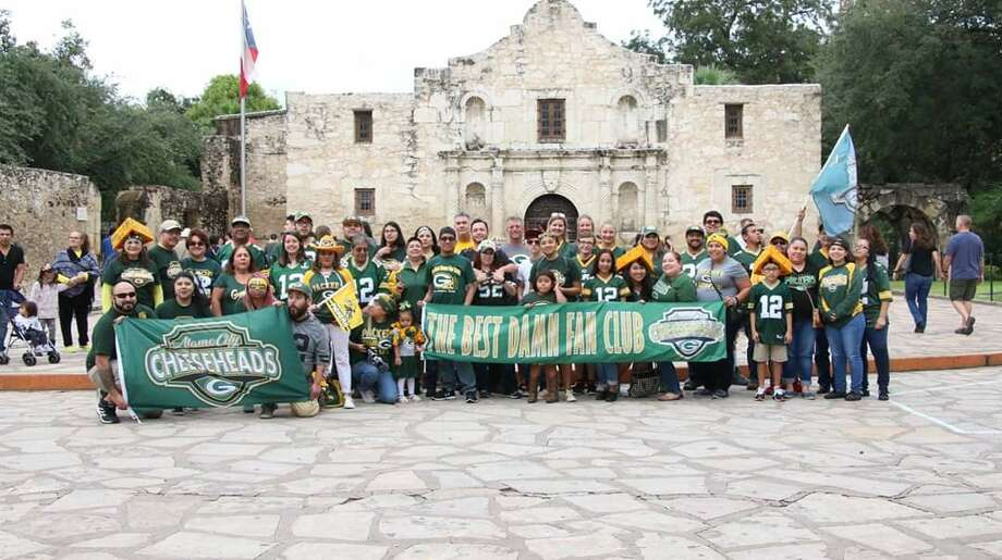 In the past 10 years, the Alamo City Cheeseheads have grown immensely as the Green Bay Packers fan club went from a group of eight strangers to now more than 400 members. Photo: George Gonzalez
