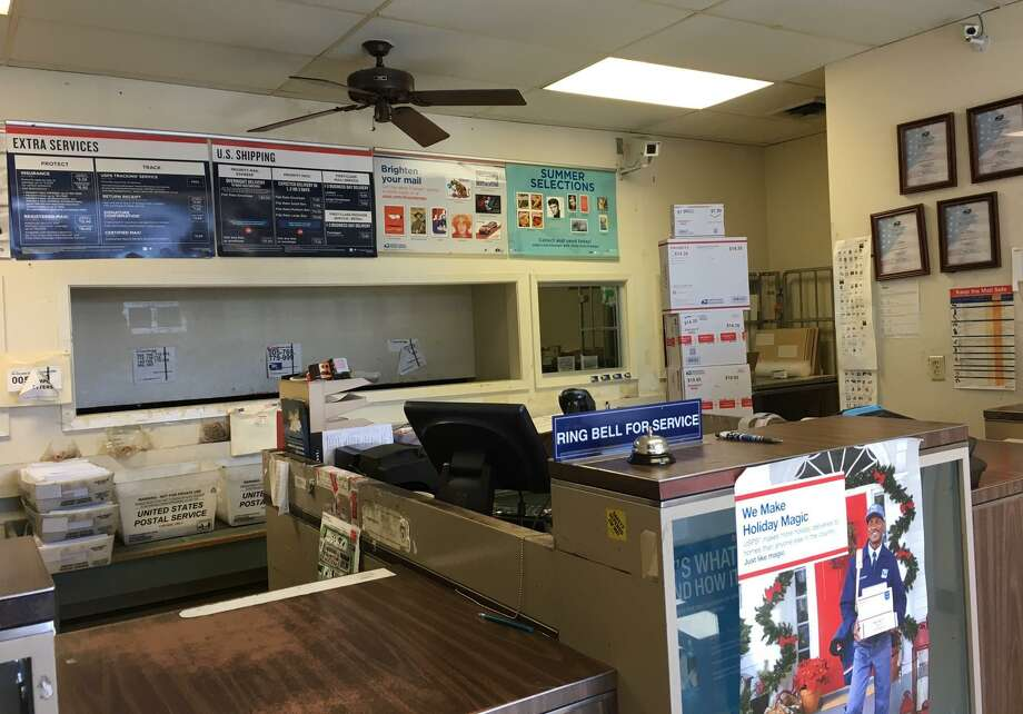 The U.S. Postal Service plans to relocate services now provided by its station at 16830 Barker Springs Road in Houston, pictured above, and is accepting comments through Jan. 18. Photo: Karen Zurawski / Karen Zurawski