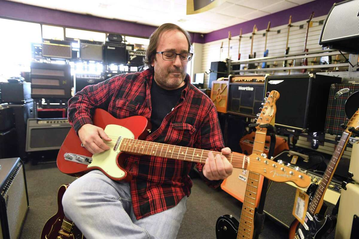 Former HBO executive Matthew Orenstein has opened a musical instrument resale store called Music Go Round in San Antonio.