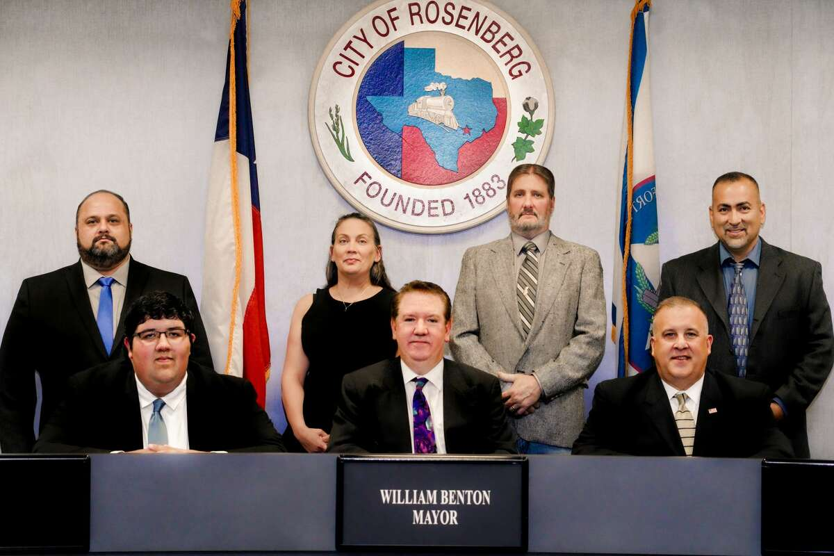 The Rosenberg city council