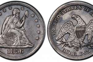 This 1856 quarter dollar was discovered in the Gold Rush-era SS Central America shipwreck.
