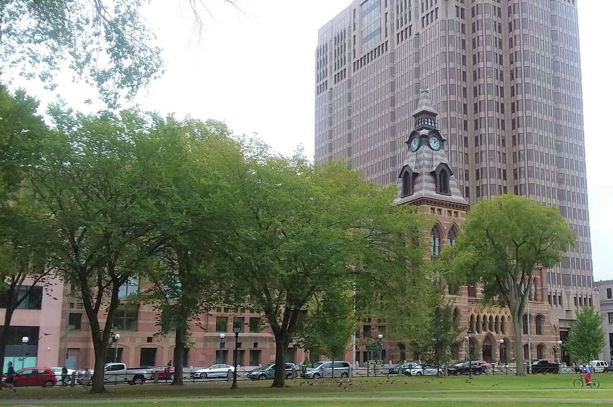 New Haven City Hall.