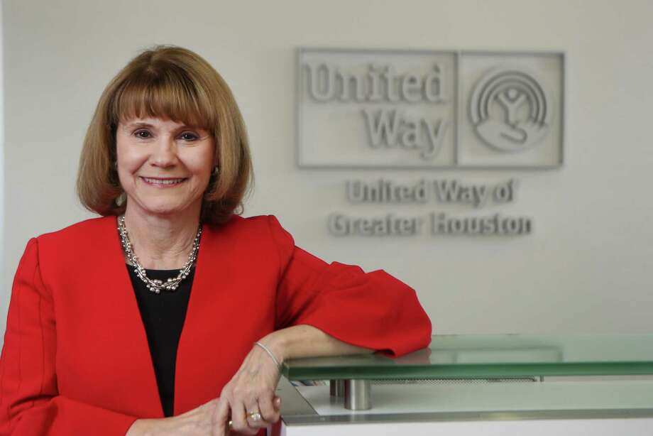 Anna Babin, the CEO of United Way Houston will retire this spring. She is photographed Thursday, Nov. 21, 2019, in Houston. Photo: Steve Gonzales, Houston Chronicle / Staff Photographer / © 2019 Houston Chronicle