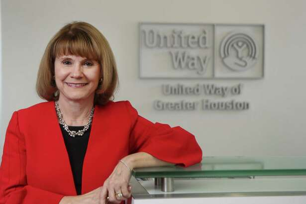 Anna Babin, the CEO of United Way Houston will retire this spring. She is photographed Thursday, Nov. 21, 2019, in Houston.