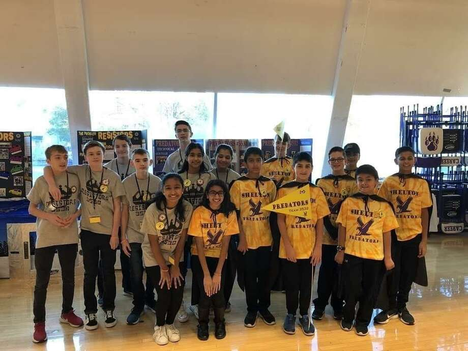 The Resistors and Predators First LEGO League robotics teams competed in the New Haven regional competition last month. Photo: Contributed Photo / Connecticut Post