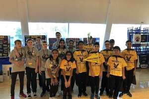 The Resistors and Predators First LEGO League robotics teams competed in the New Haven regional competition last month.