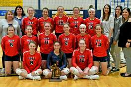 The USA volleyball squad was named the Thumb Sportswriters Association's Volleyball Team of the Year.