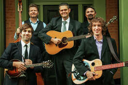 RiverBend Bluegrass Band Members, left to right, Andy Novara, Will Miskall, Aaron Muskopf, Kris Shewmake and Blake Korte. River Bend will perform Saturday at Jacoby Arts Center in Alton for its third annual and locally held holiday show.