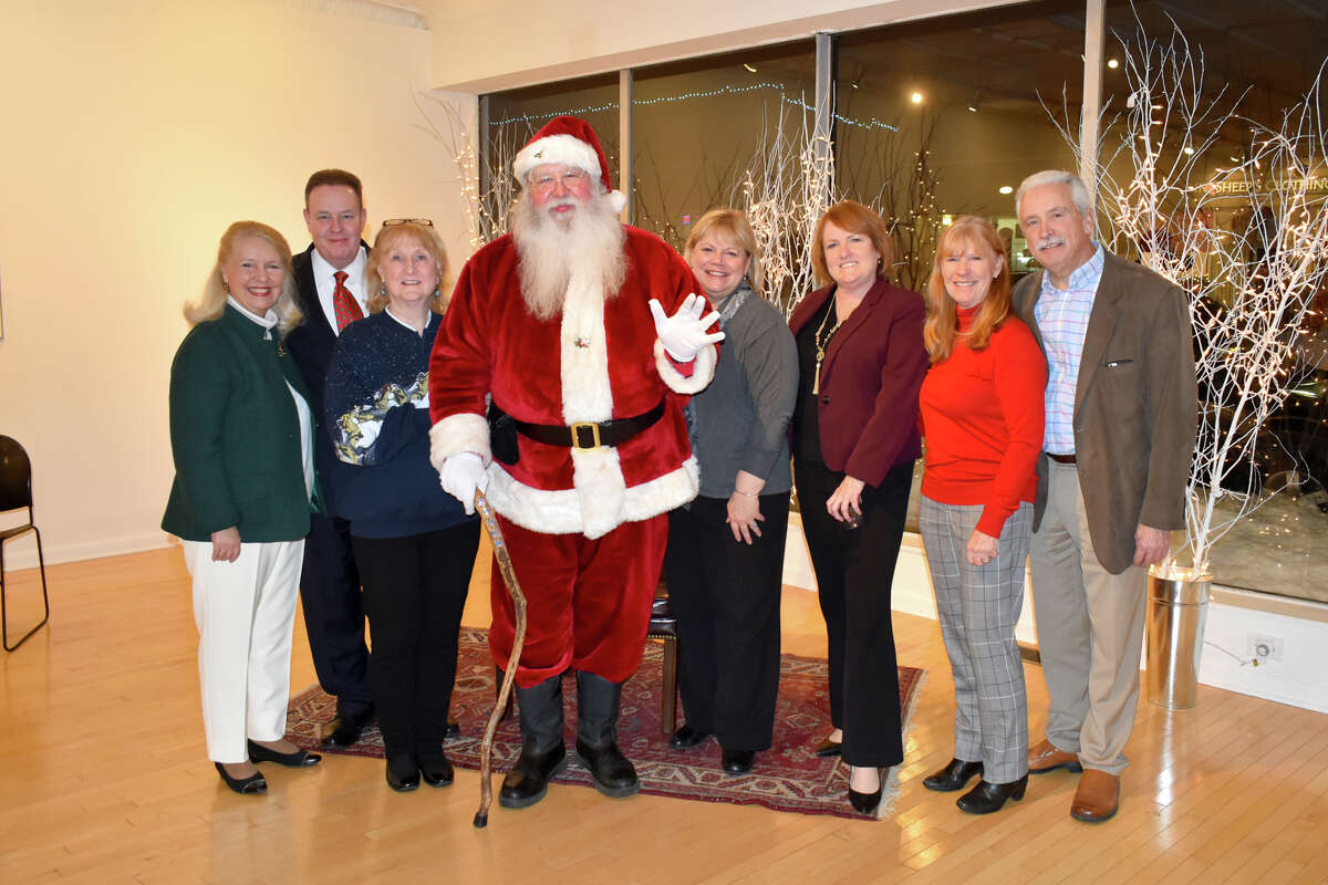 In Pictures: Friends in Service to Humanity of NWCT held their holiday kick off gala event, Deck The Halls Martini Party, at Five Points Gallery in Torrington on December 4, 2019.