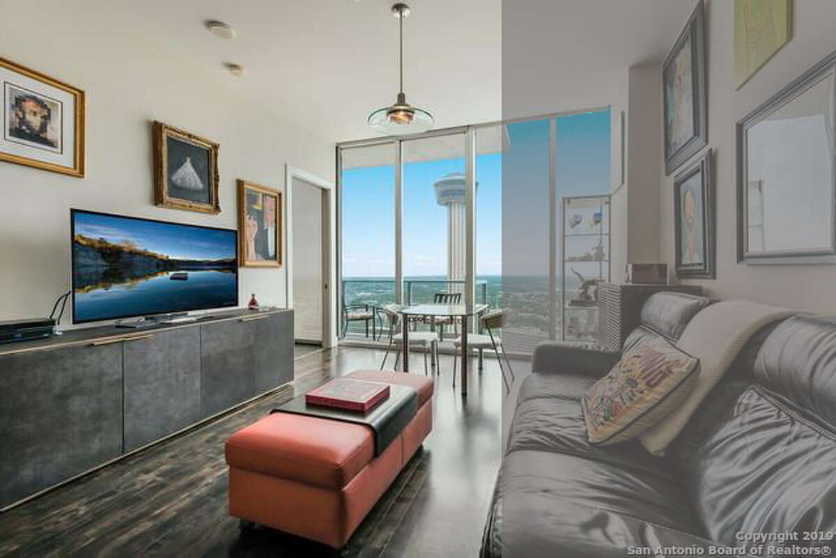 DOWNTOWN 78205 600 E Market Street $415,000 1 bed, 1 bath and 738 square feet. Even at a mere 738 feet the median home buyer could only afford 58 percent of this one bedroom, one bathroom condo.