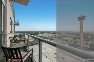 DOWNTOWN Lowest price in 78205 downtown San Antonio is a condo at 600 E market #3217 listed at $415,000