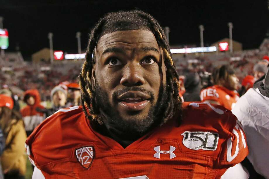 Zack Moss and Utah face Oregon in the Pac-12 title game at 5 p.m. Friday at Levi's Stadium (Channels 7, 10/1050). Photo: Rick Bowmer / Associated Press