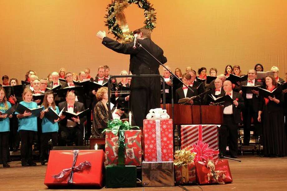 Holidays with Saginaw Choral Society, led by artistic director Jeremiah J. Kraniak, is Sunday, Dec. 8, in Temple Theatre of downtown Saginaw. (Photo provided/Saginaw Choral Society)