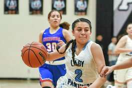 Angelina Lopez and the Lady Panthers will partake in the Border Olympics UISD Hoopfest Invitational Tournament this week.