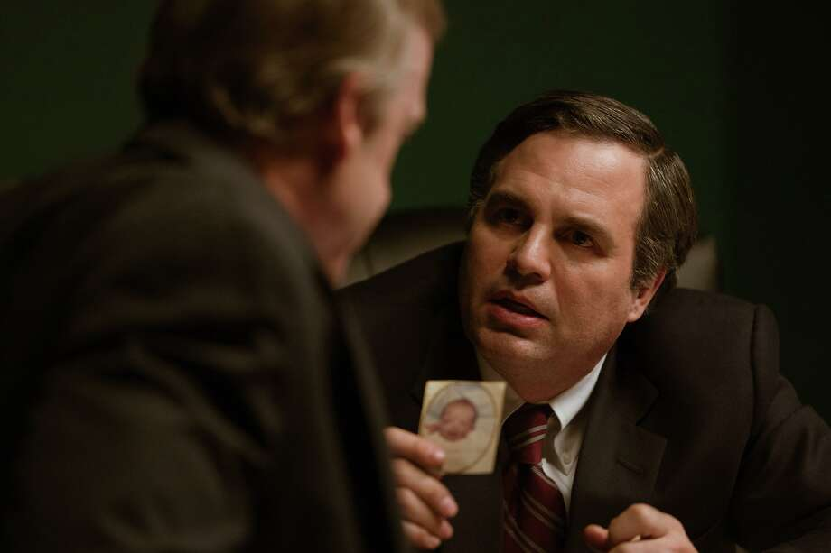 "Mark Ruffalo, right, plays attorney Rob Bilott in ""Dark Waters."" Photo: Mary Cybulski, Photographer / Focus Features / Focus Features"
