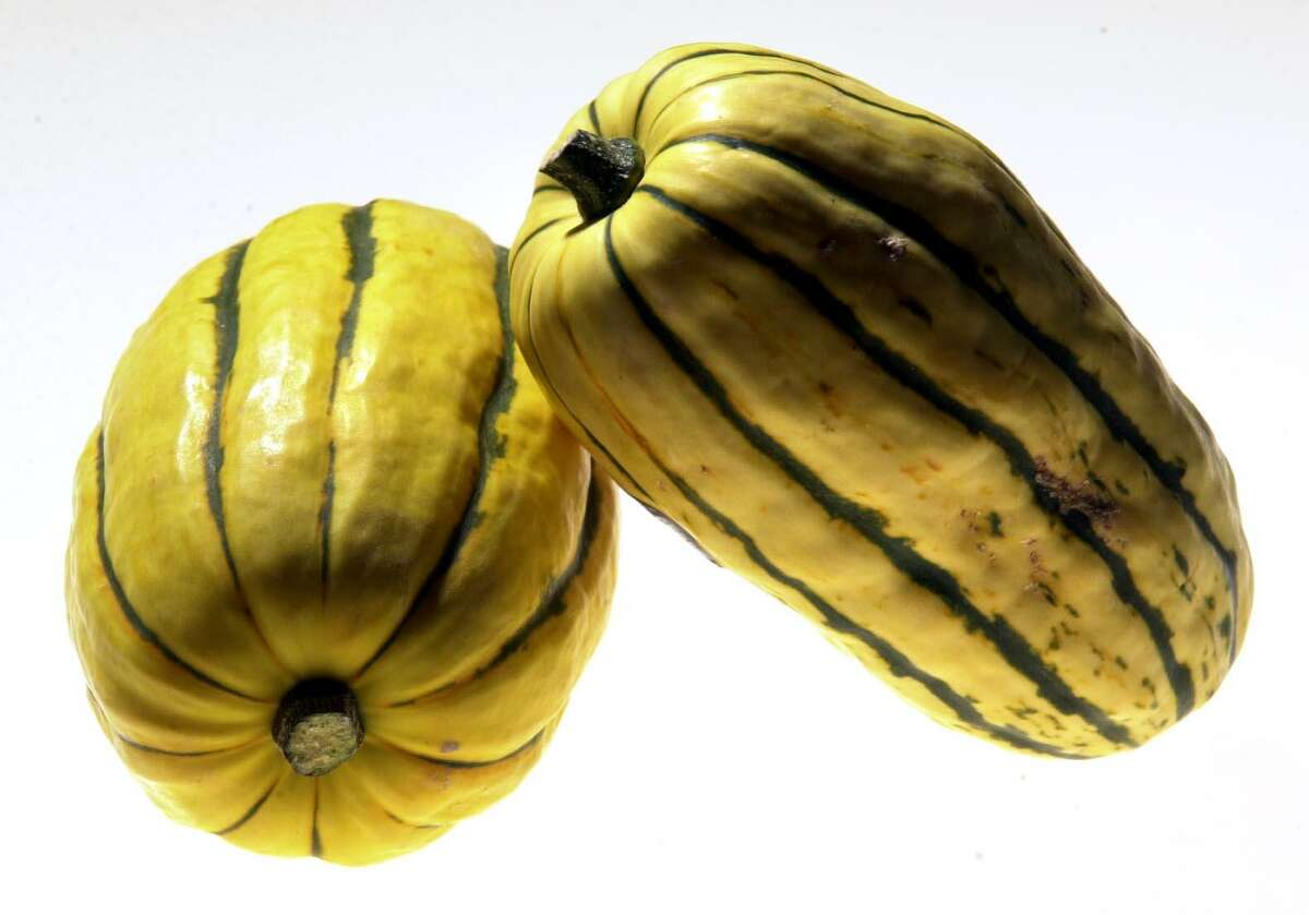 Delicata squash is a great source of vitamin A and C. Vitamin A is essential for our vision as well as for cell growth and reproduction, bone development and immune system functions.