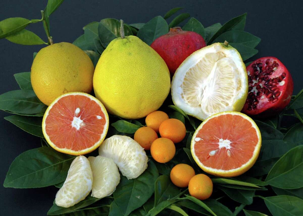 There are a plethora of citrus fruits in season this time of year, including grapefruit, lemon, oranges, clementines and pomegranate. All of which are high in vitamin C.
