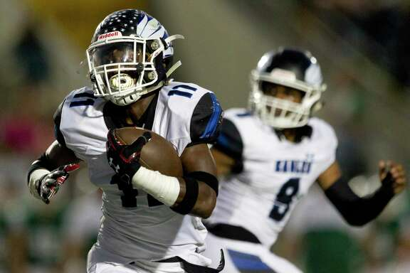 New Caney running back C.J. Sanders scored 21 touchdowns last season.