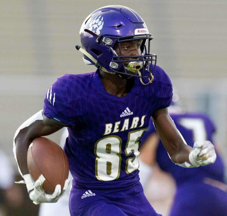 Montgomery wide receiver Tre Harden (85) was named to the District 10-5A (Div. II) first team offense. Photo: Jason Fochtman, Houston Chronicle / Staff Photographer / Houston Chronicle