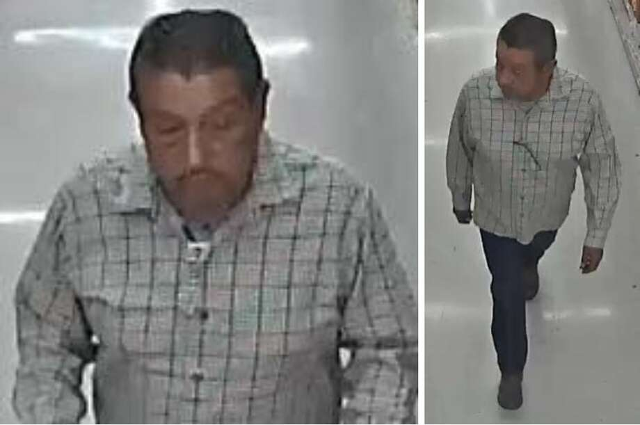 Laredo police said this man took a wad a cash that belonged to an elderly male. To report his identity, call police at 795-2800 or Laredo Crime Stoppers at 727-TIPS (8477). Photo: Courtesy