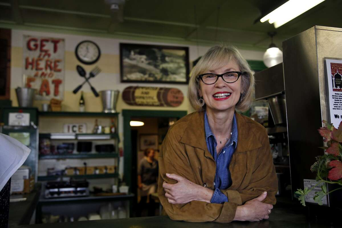 Carrie Brown owns the Jimtown Store in Healdsburg, Calif., on Thursday, October 24, 2013.
