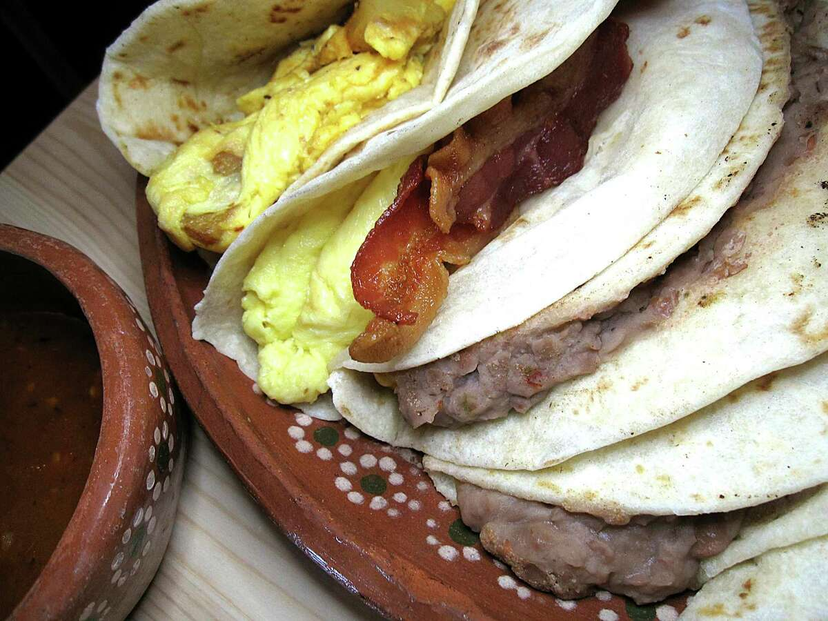 2. Outside of San Antonio, breakfast burritos are way more popular and common than breakfast tacos.