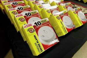 """Operation """"Get Alarmed Montgomery County"""" is a joint effort of all the County Fire Departments and both the City of Conroe and Montgomery County Fire Marshals, offering free smoke alarms funded by donations from the community. Under the program, homeowners that need assistance can contact their local fire station and schedule a home visit. Firefighters will come to their home and install new long-life smoke alarms in every bedroom, sleeping area, and adjoining hallway at no cost."""