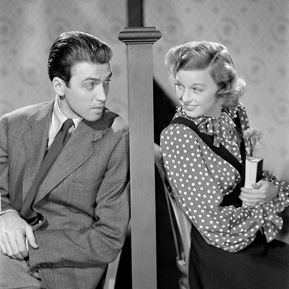 "James Stewart and Margaret Sullavan star in the 1940 film ""The Shop Around the Corner,"" which is being screened at Newtown's Edmond Town Hall Theater. Photo: Someday Cinema Series / Contributed Photo"