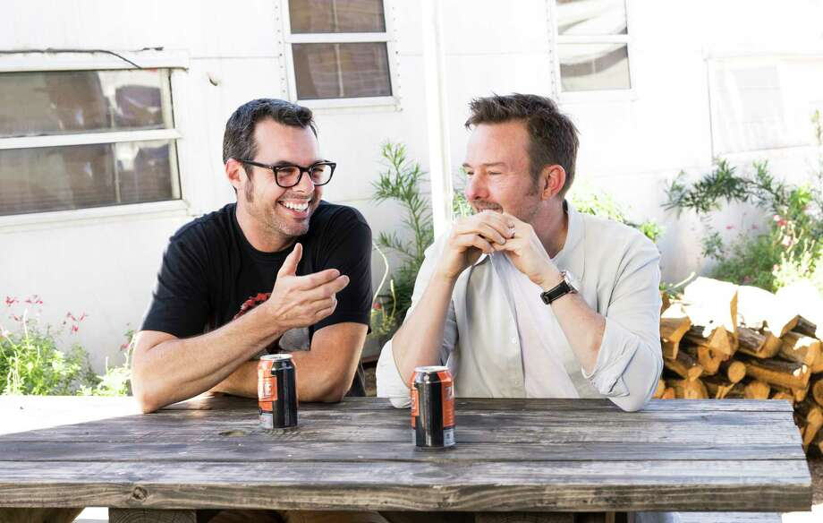 Franklin Barbecue pitmaster/owner Aaron Franklin and Uchi's Tyson Cole are teaming up to bring their Loro restaurant, a merger of Japanese cuisine and barbecue, to Houston in 2021. Photo: Logan Crable / Logan Crable