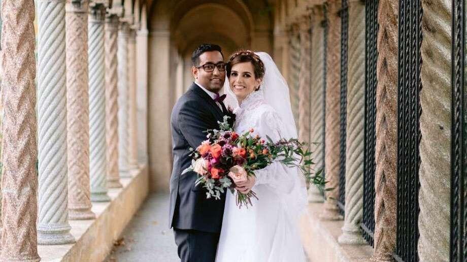 Virginia and Neeraj Ughade Photo: Contributed Photo / Wilton Bulletin Contributed