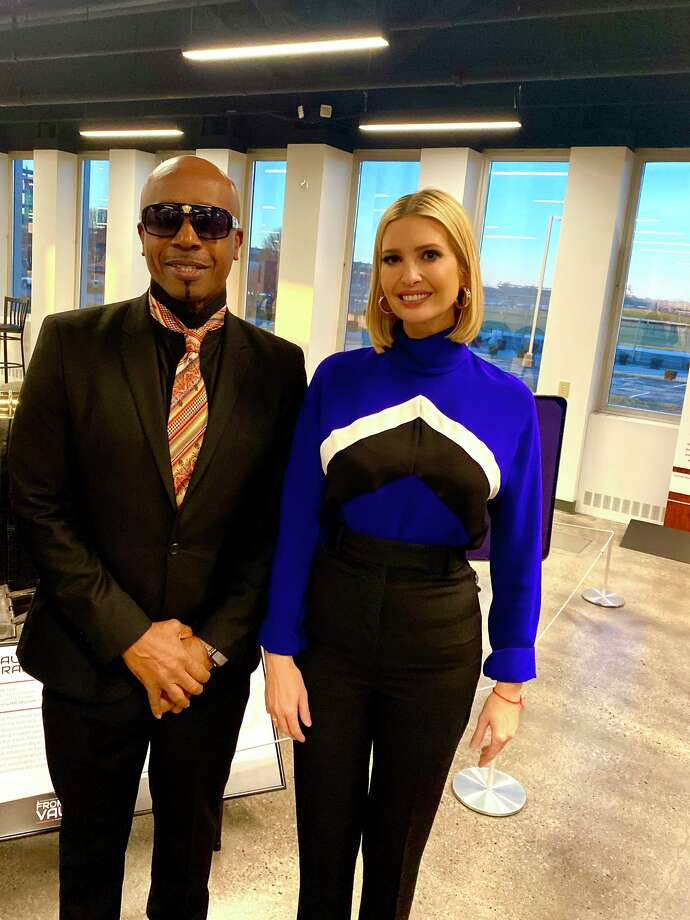 MC Hammer and Ivanka Trump tour the Indianapolis Motor Speedway on Dec. 4, 2019. Photo: MC Hammer / Instagram