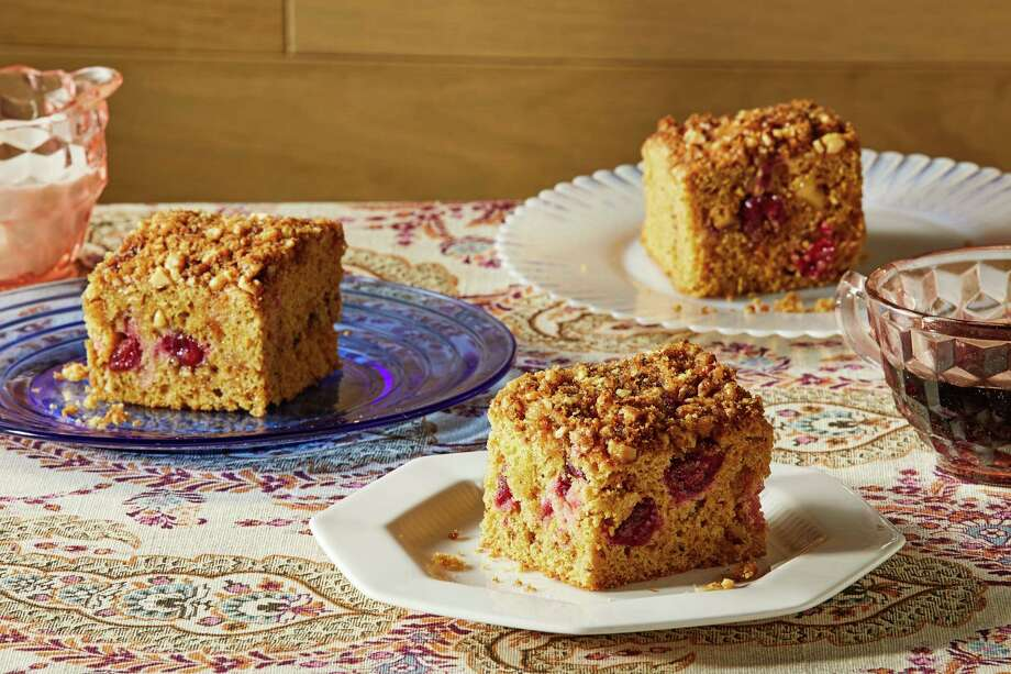 This cozy and comforting cranberry-orange snacking cake begs to be shared with a friend