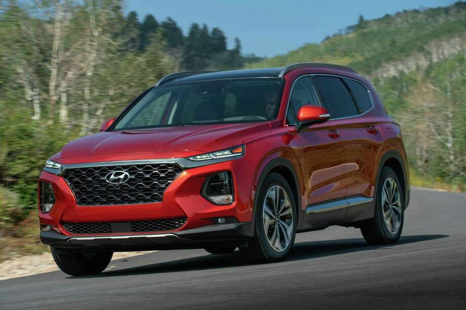 The 2020 Santa Fe has been rated a Top Safety Pick Plus by the Insurance Institute for Highway Safety. Photo: Hyundai News/ Contributed Photo