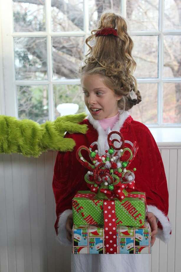 "WHO, INDEED: Clarissa Mock of Old Lyme plays Cindy Lou Who in the Madhatters Theatre Company presentation of ""The Grinch"" Friday, Dec. 13, at 6 p.m., Saturday at 2 and 6, and  Sunday at 2 p.m. at the Chester Meeting House, 4 Liberty St., Chester. To purchase tickets, e-mail madhattersctc@aol.com or call 860-395-1861.Tickets are $20 for adults and $15 for children 12 years and under. Photo: Madhatters / Contributed Photo"