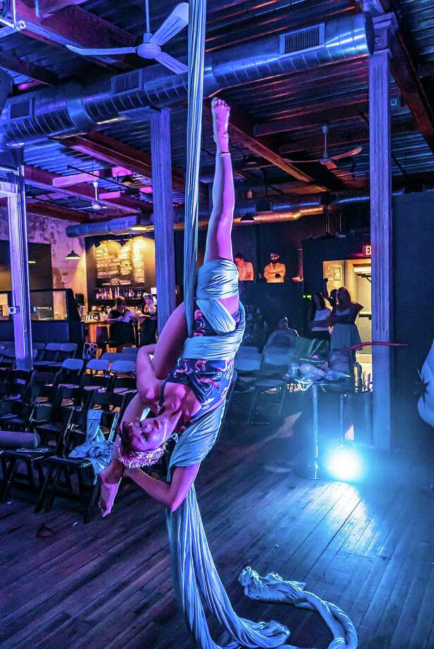 Silks performer Svenja Wacker will perform at the State House Cabaret. Photo: Sara Scranton / Contributed Photo