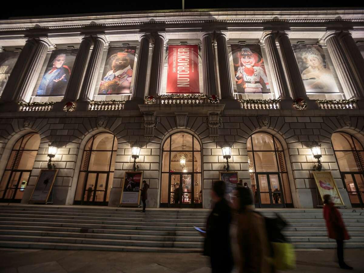 San Francisco Ballet Nutcracker @ the War Memorial Opera House Runs Dec. 11-29 301 Van Ness Ave, San Francisco $25-$395