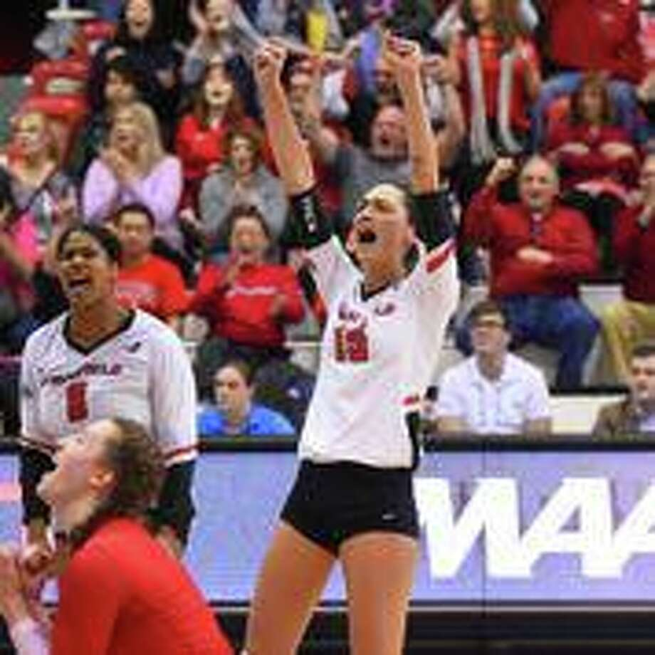 Setter Manuela Nicolini led the Fairfield women's volleyball team to MAAC tournament title. Photo: Contributed Photo