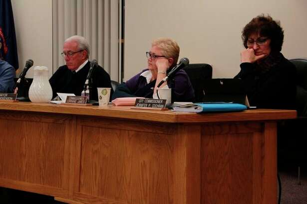 During Monday's Big Rapids City Commission meeting, the board declined to ban recreational marijuana establishments within the city of Big Rapids. According to Big Rapids City Attorney Eric Williams, the ordinance to opt out of recreational marijuana establishments now will be taken to the voters in the March 2020 presidential primary. (Pioneer photo/Alicia Jaimes)